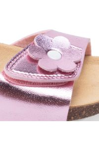 Różowe sandały Superfit z aplikacjami, na lato #6