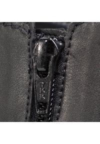 Czarny kozaki Gabor z cholewką przed kolano, z cholewką #7