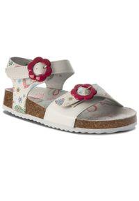 Białe sandały Nelli Blu na lato