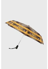 Brązowy parasol MOSCHINO
