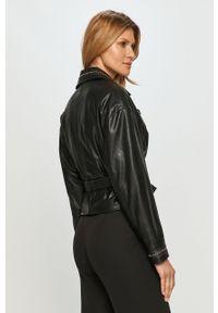 Czarna kurtka Pinko klasyczna, bez kaptura