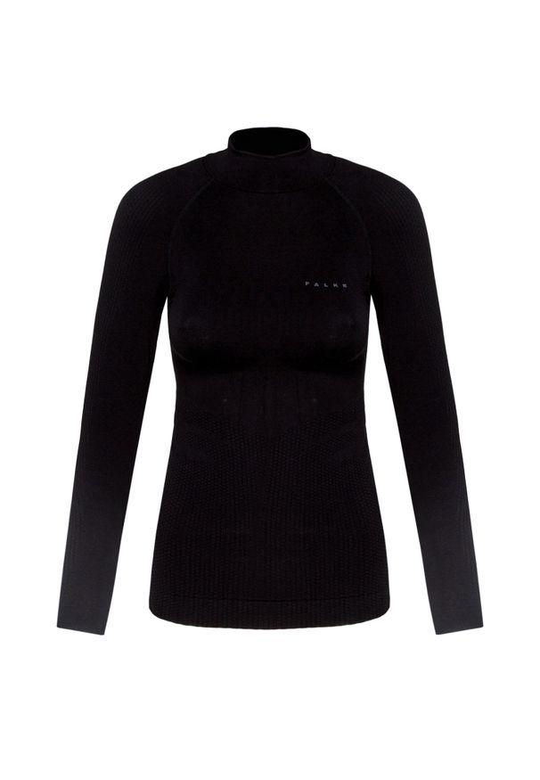 Czarna koszulka termoaktywna Falke