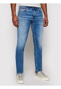 Tommy Jeans Jeansy Scanton DM0DM09843 Niebieski Slim Fit. Kolor: niebieski