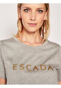 Escada Sport T-Shirt Eleza 5031118 Szary Regular Fit. Kolor: szary. Styl: sportowy