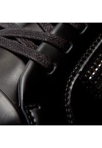 Czarne półbuty Calvin Klein casualowe, na co dzień, na sznurówki