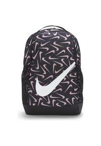 Plecak sportowy Nike Brasilia DA5851. Materiał: materiał, poliester. Wzór: paski, nadruk. Styl: sportowy