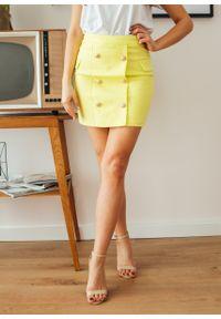 Żółta spódnica Fanaberia.com elegancka