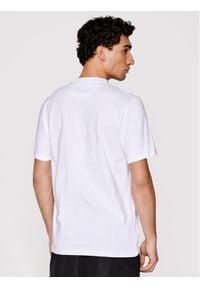 Prosto. - PROSTO. T-Shirt KLASYK Cesar 1033 Biały Regular Fit. Kolor: biały