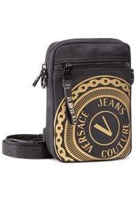 Versace Jeans Couture - Saszetka VERSACE JEANS COUTURE - E1YWAB83 71889 M27. Kolor: czarny. Materiał: materiał