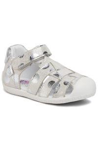 Srebrne sandały Lasocki Kids