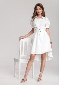 Renee - Biała Sukienka Nedadoe. Kolor: biały