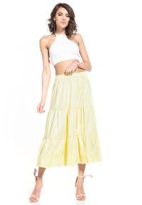 Żółta spódnica Tessita
