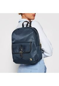 U.S. Polo Assn - Plecak U.S. POLO ASSN. - Houston S Backpack Bag BIUHU4924WIP212 Navy. Kolor: niebieski. Materiał: materiał. Styl: klasyczny #4