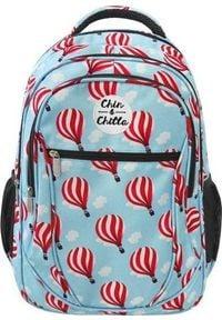 Incood Plecak szkolny Balony niebieski. Kolor: niebieski