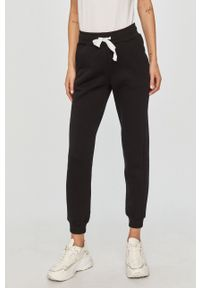 Czarne spodnie dresowe Answear Lab