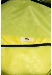 Vans - Plecak. Kolor: oliwkowy. Materiał: materiał, nylon, poliester. Wzór: aplikacja, paski #2