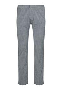 Pierre Cardin Spodnie materiałowe Lyon 3520/000/4910 Szary Modern Fit. Kolor: szary. Materiał: materiał