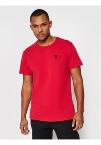 Guess T-Shirt M1GI56 K8HM0 Czerwony Regular Fit. Kolor: czerwony