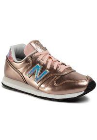 Złote buty sportowe New Balance New Balance 373