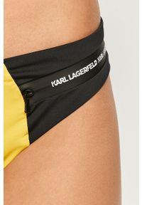 Żółty strój kąpielowy dwuczęściowy Karl Lagerfeld