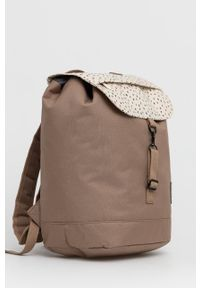 Lefrik - Plecak. Kolor: brązowy. Materiał: poliester