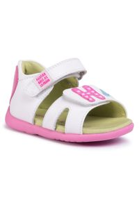 Białe sandały Agatha Ruiz de la Prada na lato