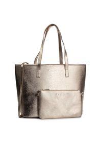 Złota torebka klasyczna Kazar