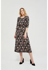 Sukienka MOODO z nadrukiem, elegancka