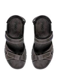 Szare sandały Imac na lato, klasyczne