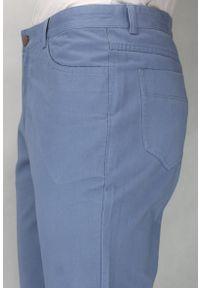 Niebieskie spodnie Ezreal eleganckie
