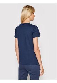 Joma T-Shirt Desert 901326.331 Granatowy Regular Fit. Kolor: niebieski
