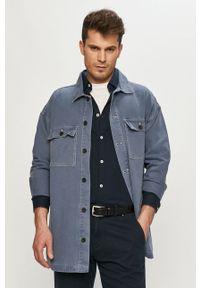 Dr. Denim - Kurtka jeansowa. Okazja: na co dzień. Kolor: niebieski. Materiał: jeans, denim. Styl: casual