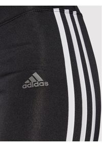 Adidas - adidas Legginsy Running 3-Stripes CZ8095 Czarny Skinny Fit. Kolor: czarny. Sport: bieganie #3
