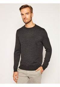 Polo Ralph Lauren Sweter Lsl 710810832002 Szary Regular Fit. Typ kołnierza: polo. Kolor: szary