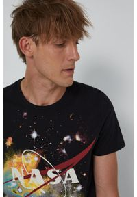 medicine - Medicine - T-shirt bawełniany Licence Mix. Okazja: na co dzień. Kolor: czarny. Materiał: bawełna. Styl: casual