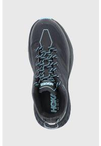 Hoka One One - Buty Speedgoat 4 GTX. Nosek buta: okrągły. Zapięcie: sznurówki. Kolor: czarny. Materiał: guma. Technologia: Gore-Tex. Wzór: geometria. Sport: bieganie