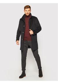 Niebieski płaszcz przejściowy Oscar Jacobson #5