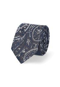 Lancerto - Krawat Mixkolor Paisley. Materiał: mikrofibra, materiał. Wzór: paisley. Styl: elegancki #1