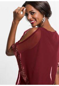 Czerwona sukienka bonprix maxi