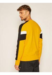Champion Bluza Sweatshirt 214786 Żółty Comfort Fit. Kolor: żółty