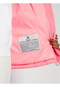 Różowa kurtka puchowa Champion