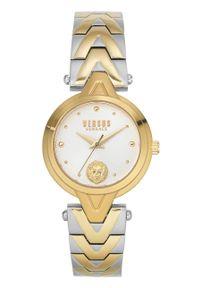 Versus Versace - Zegarek VSPVN1020. Kolor: złoty. Materiał: materiał