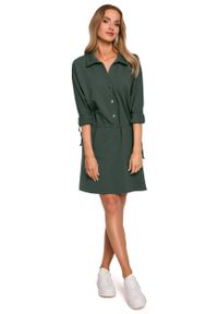 Zielona sukienka MOE