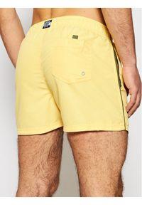 Pepe Jeans Szorty kąpielowe New Brian PMB10265 Żółty Regular Fit. Kolor: żółty #5