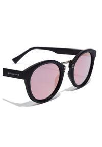 Hawkers - Okulary przeciwsłoneczne WHIMSY - ROSE GOLD. Kształt: okrągłe. Kolor: czarny