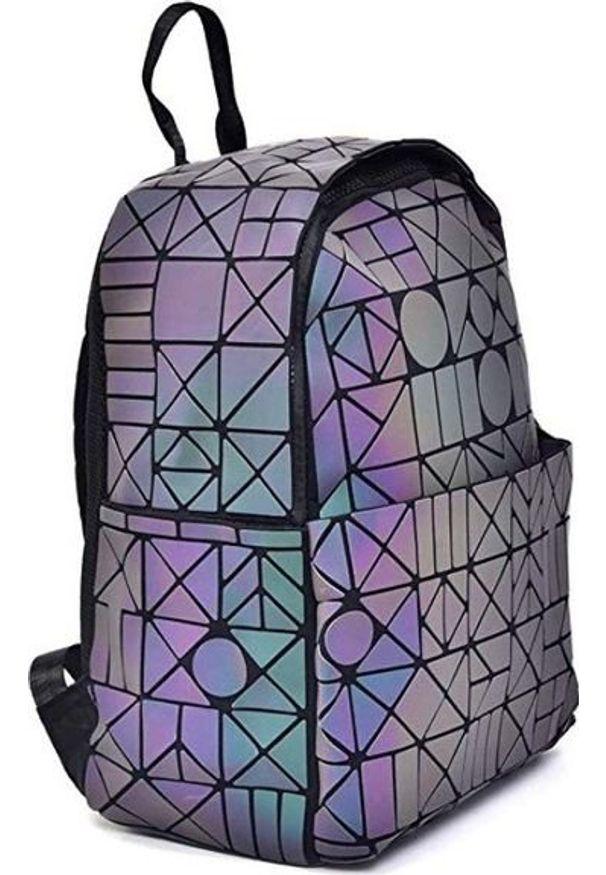 Pan i Pani Gadżet Plecak geometryczny HOLO. Wzór: geometria