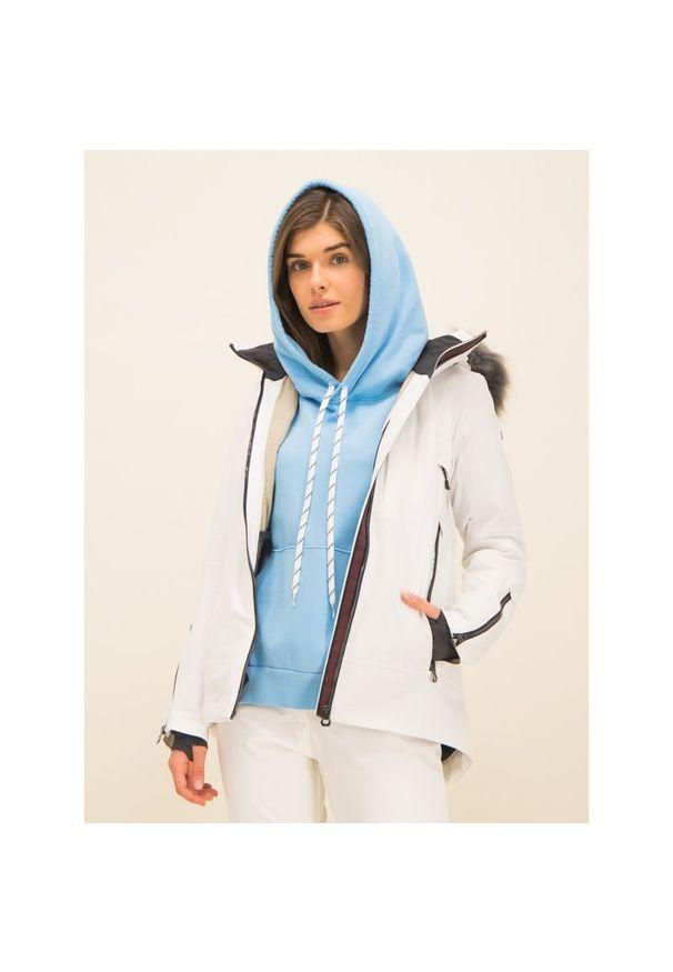 Biała kurtka narciarska Helly Hansen