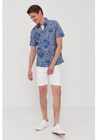 Pepe Jeans - Szorty Cane. Okazja: na co dzień. Kolor: biały. Materiał: tkanina. Wzór: gładki. Styl: casual