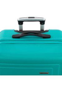 Turkusowa walizka Wittchen klasyczna