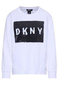 Biała bluza DKNY